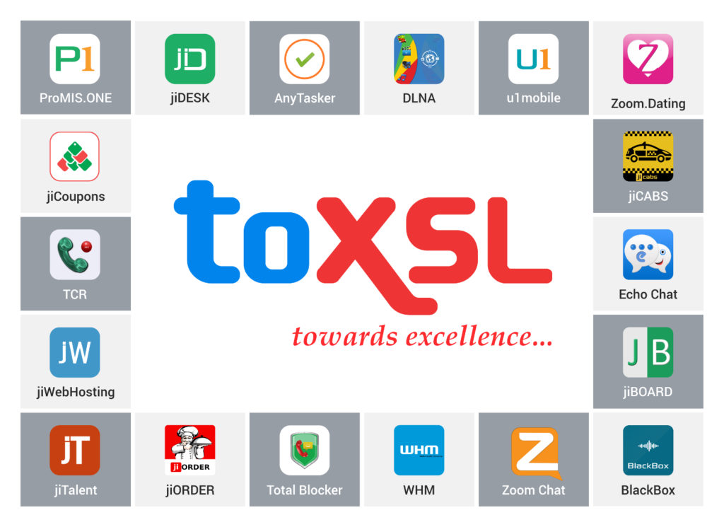 Products and Services of ToXSL Technologies