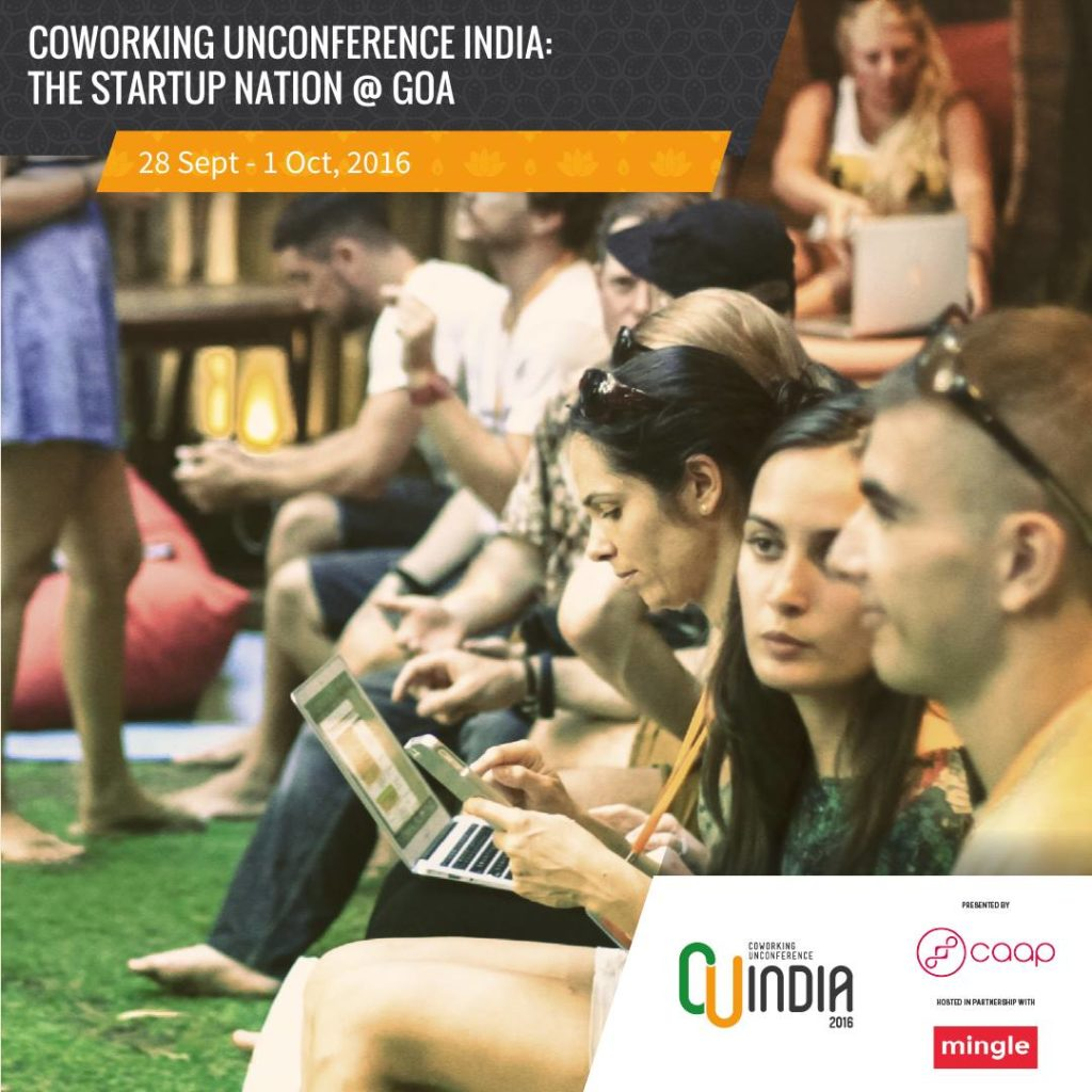 Coworking Alliance of Asia Pacific is set to bring the first Coworking Unconference to India