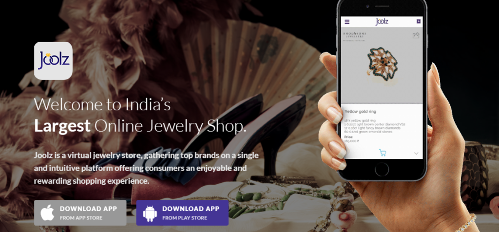 Joolz is an India-focused community and marketplace that brings together leading jewellery brands