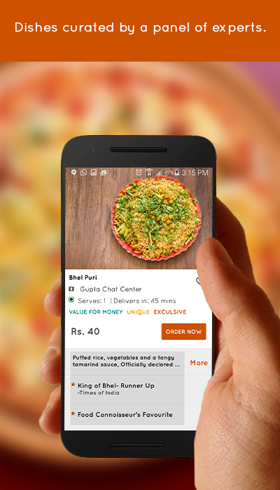 food ordering app dailycacy 2