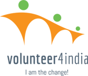 Volunteer4India Logo