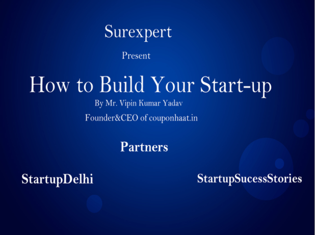 Surexpert organises their first startup event with Startup Delhi and Startup Sucess Stories to help startup community & ecosystem to grow & flourish