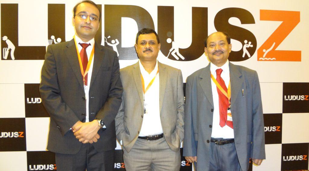 From left to right - ,Mr. Nakul Sharma,Mr. Pronoy Roy,Karunesh Mukherjee