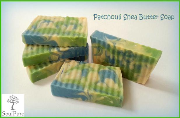 Patchouli Shea Butter Soap