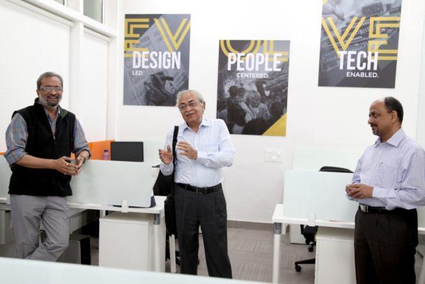 Mr. Snehal Vasani, MD, Kitchen Grace, Prof. Anant Chakradeo, Dean at Design Habitat, MIT ID and