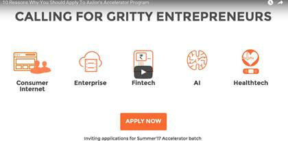 Axilor Ventures Plans to Accelerate Investments in Early Stage Startups; To Double Intake for Its Accelerator Program